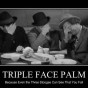 face palm stooges