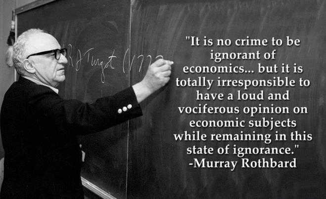 Rothbard on the Free Market and Coercion