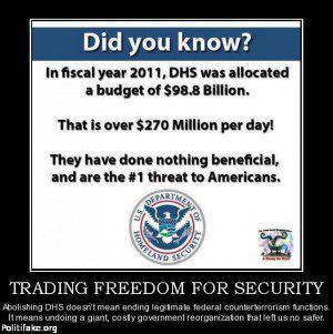 Department of Homeland Security: What is it Good For?