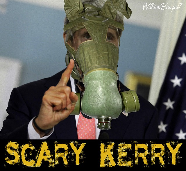 SCARY KERRY MASKED