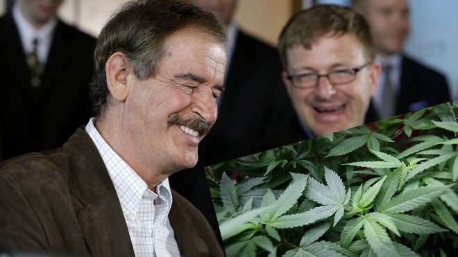 Mexico's Vicente Fox pushes marijuana debate to forefront