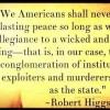 higgs peace statism