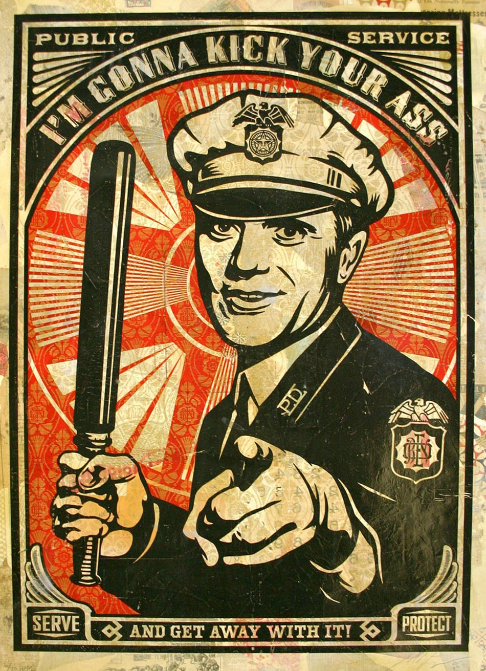 Police Service: On Your Face