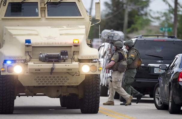 Battlefield Ft. Pierce: A Handgun Escalates Military to DEFCON 3