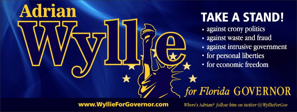 Adrian Wyllie candidate for Florida Governor