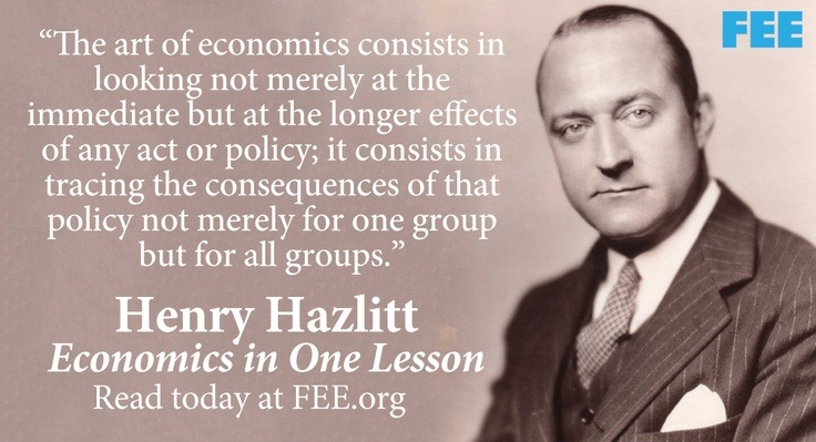 What Henry Hazlitt Can Teach Us About Inflation in 2014
