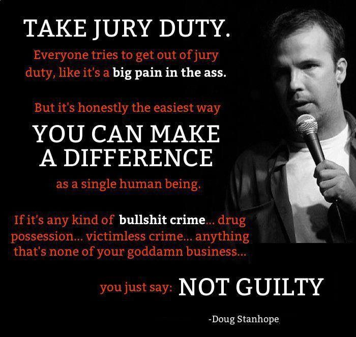 Doug Stanhope Dishes on Liberty, Freedom, Pledge of Allegiance and Jury Nullification