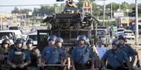 militarization police ferguson battlefield
