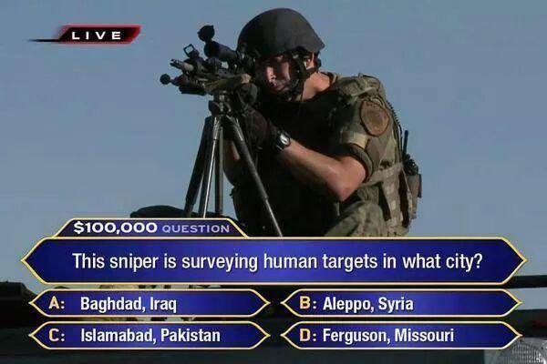 Ferguson: The War Comes Home