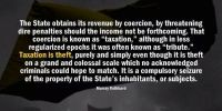 rothbard state statism
