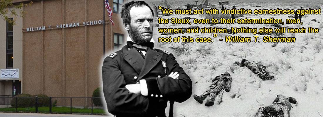 War Criminal Sherman Remembered on the Treasure Coast #Thanksgiving
