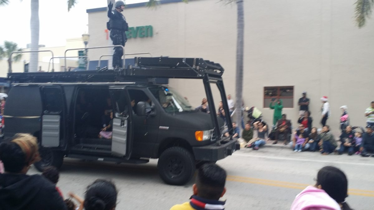 The Root of Police Militarization