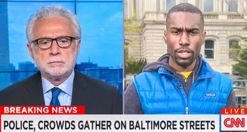 Wolf Blitzer Gets Served on CNN