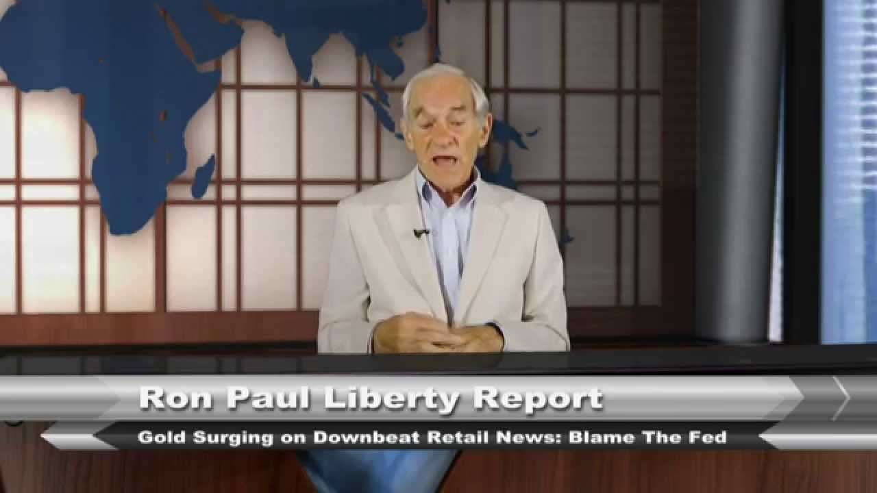 Gold Surging on Downbeat Retail News: Blame the Fed!