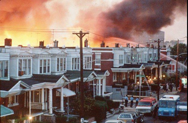 Police Fire Bomb Philadelphia Neighborhood