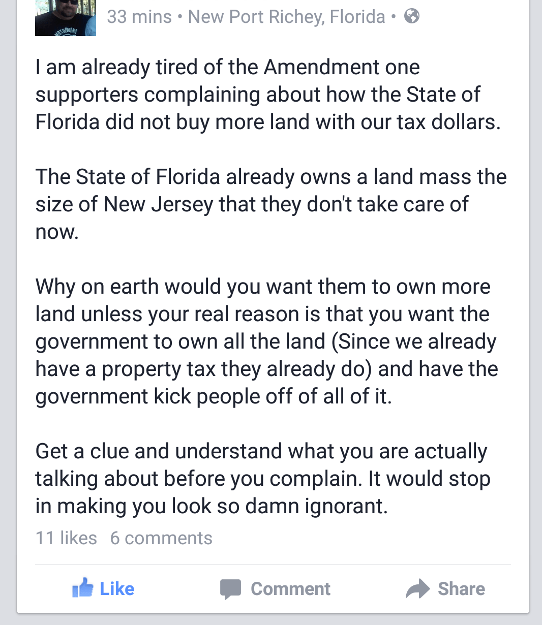 Common Sense on Amendment 1