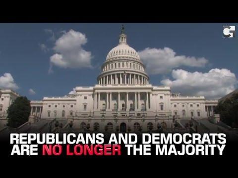Democrats and Republicans Are No Longer The Majority