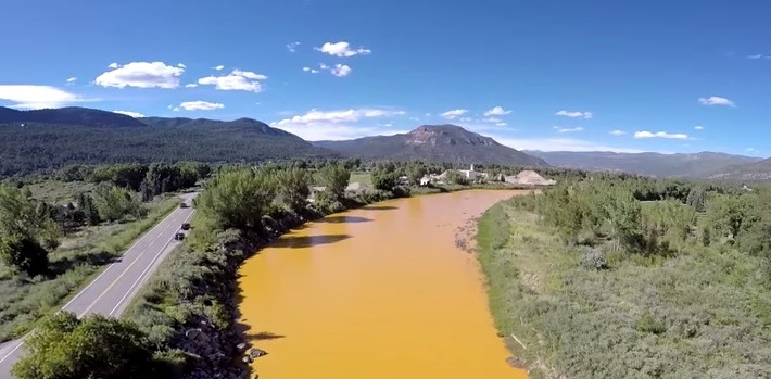 EPA Spills Million of Gallons of Toxic Waste into Colorado River #IndianRiverLagoon