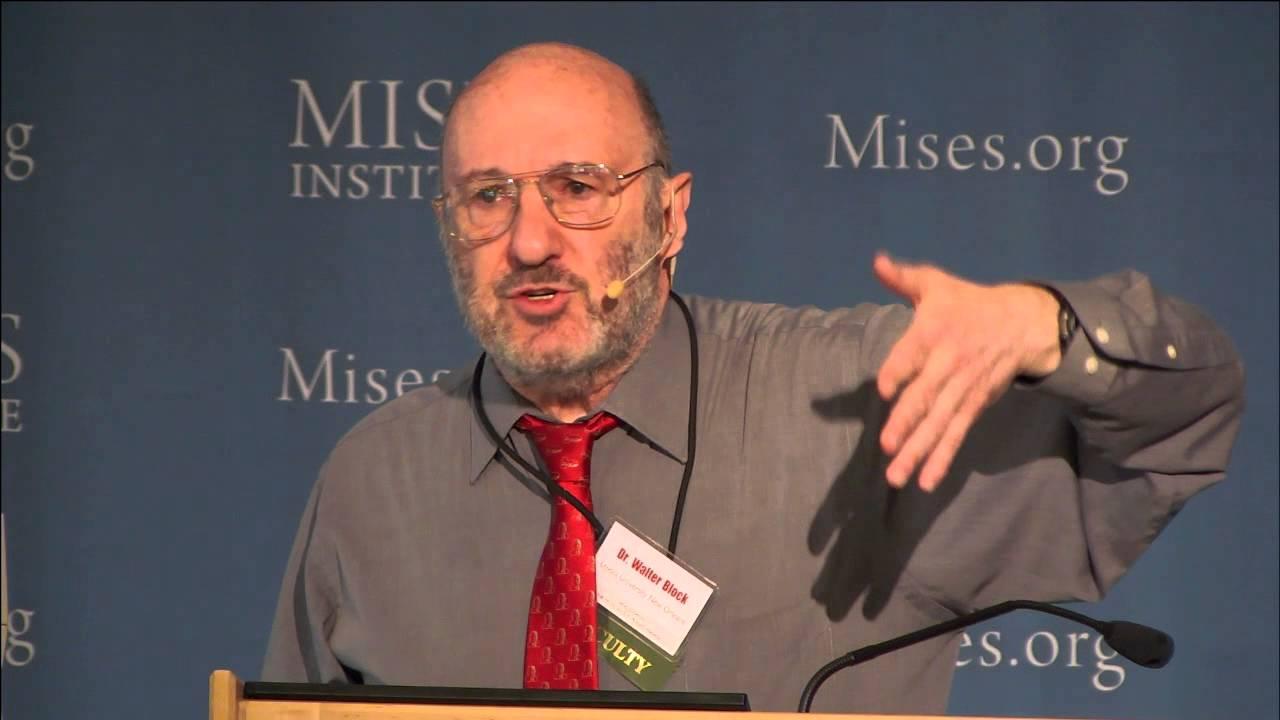 An Austrian Critique of Mainstream Economics | Walter Block