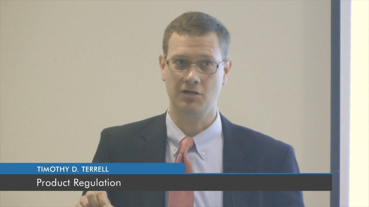 Product Regulation | Timothy D. Terrell