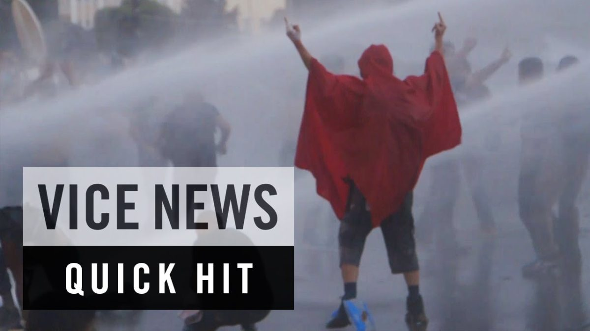 Thousands Protest the Rotten, Stinky State (VIDEO)