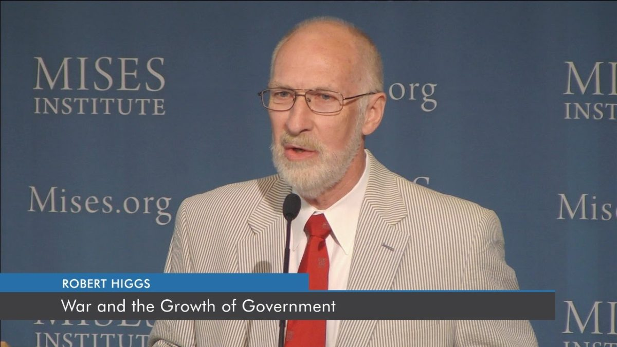 War and the Growth of Government   Robert Higgs