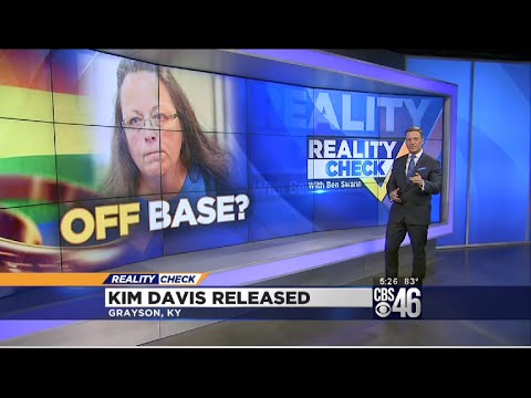 Reality Check: Why Marriage Licenses Have Nothing To Do With God, Kim Davis