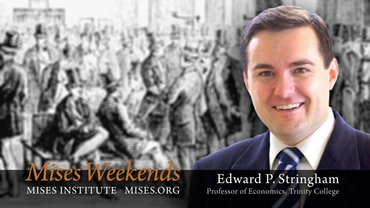 Ed Stringham: Private Governance