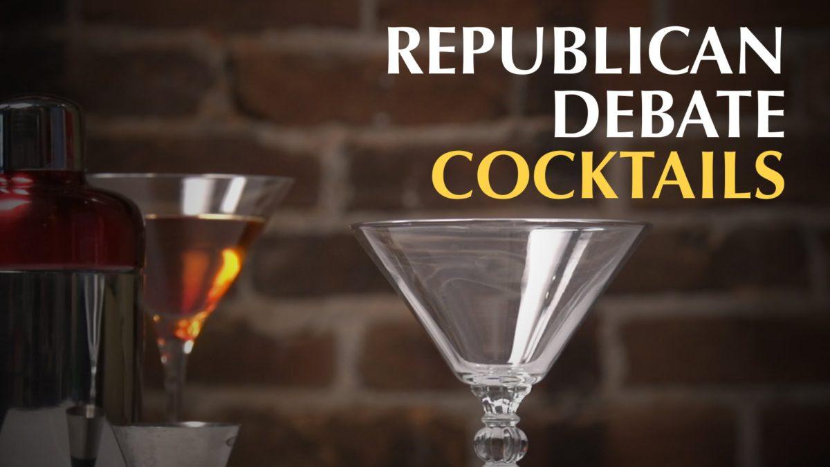 Republican Debate Cocktails