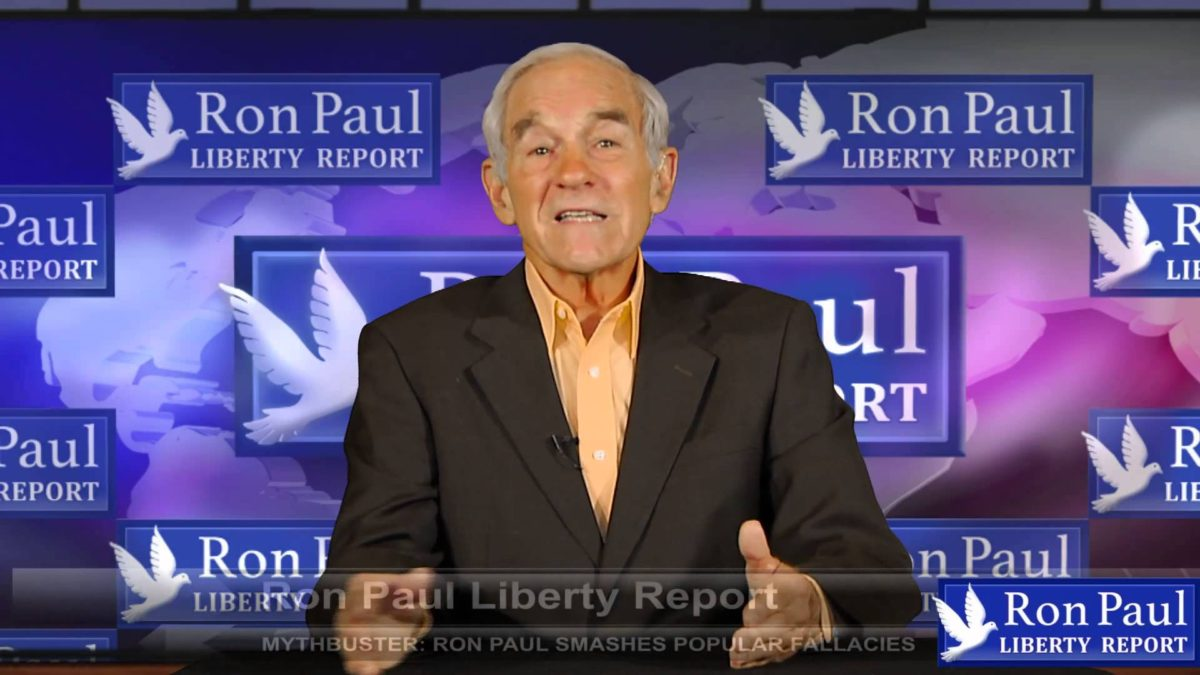 Myth Buster: Ron Paul Smashes Popular Fallacies