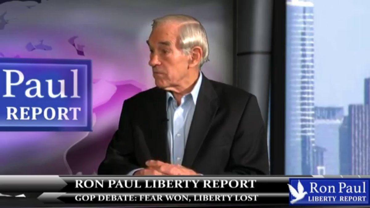 GOP Debate: Fear Won, Liberty Lost