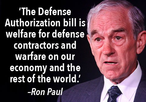 Defense Bill Coming This Week: A Boost for War and Tyranny