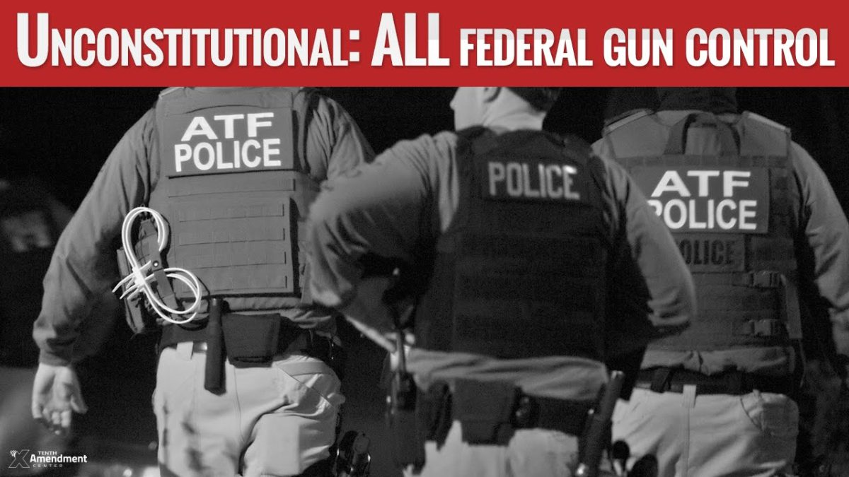 Zero: The Number of Federal Gun Control Measures that are Constitutional