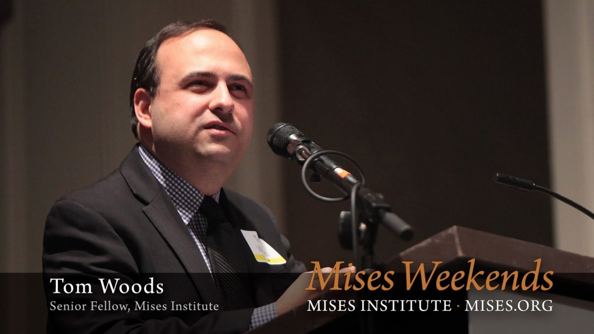 Tom Woods: Rothbard Changed My Mind About War
