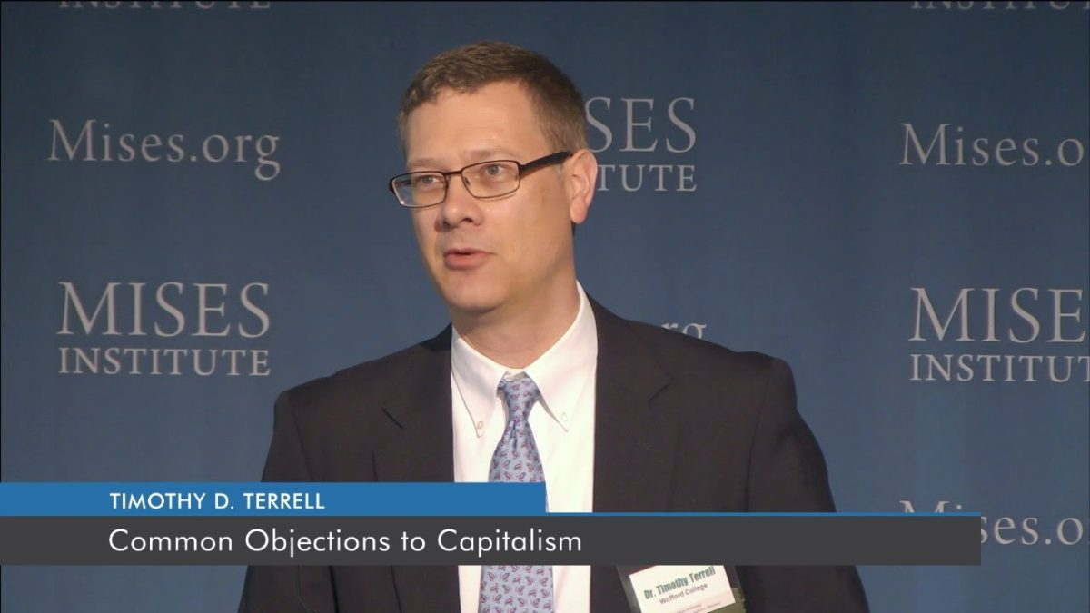 Common Objections to Capitalism | Timothy D. Terrell
