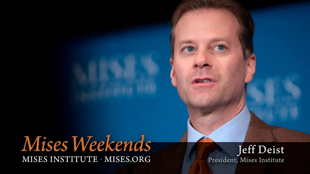 The Role of the Mises Institute
