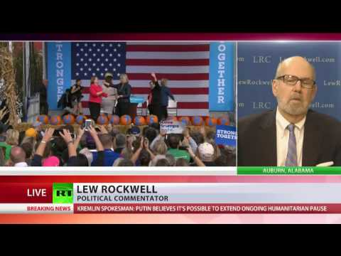 Lew Rockwell interview with RT on Clinton email