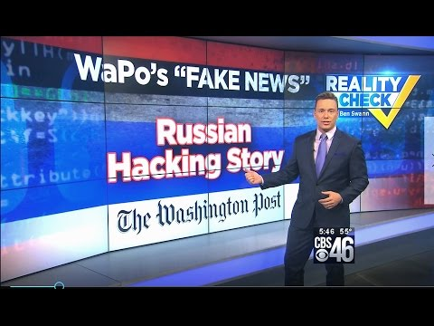 "Reality Check: Why WaPo's Russia Hacking U.S. Power Grid Story is Epitome of ""Fake News"""