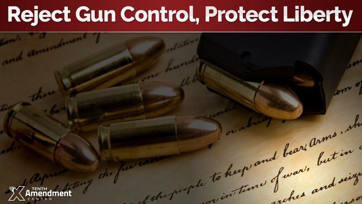 Nullify Federal Gun Control!