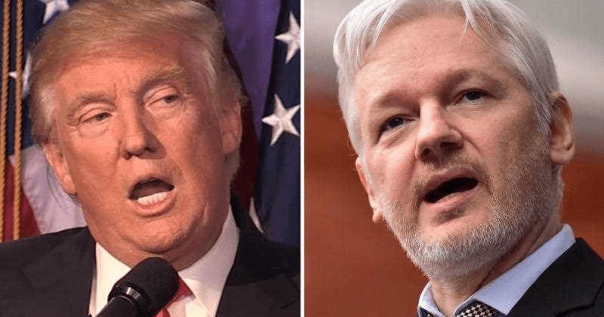 Candidate Trump: 'I Love Wikileaks.' President Trump: 'Arrest Assange!'