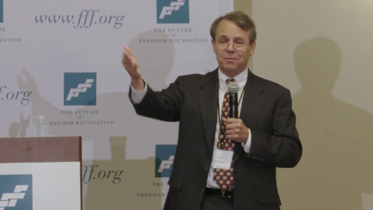 "Jacob Hornberger – ""The National Security State: The Biggest Mistake in U.S. History"""